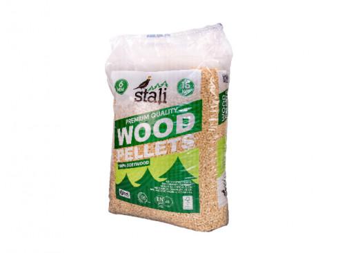 Medienos drožlių granulės...